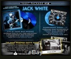 Third Man Vault # 14 Jack White 2 X Lp Live At Third Man Plus 7 Simple Vinyle
