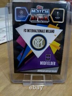 Topps Match Attax Extra 20/21 Stefano Sensi Autograph Edition Card Signed