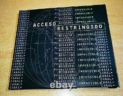 U2 Mission Impossible Ultra Rare CD Promo Espagnol Unique Acceso Restringido U 2