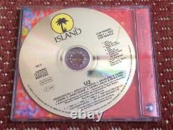 U2 Octobre 1991 Ultra Rare Uk Radio Promo CD 250 Pressé No De Chat U2-3