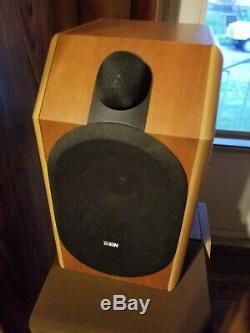 Unique B & W CDM 1se Haut-parleurs Bowers & Wilkins Britannique Audiophile Special Edition