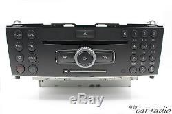 Unité Centrale Originale De Mercedes W204 Comand Haute Navigation Simple A2049062800 De Navigation