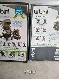 Urbini Omni Plus 3 En 1 Special Edition Système Voyage Gris Chiné