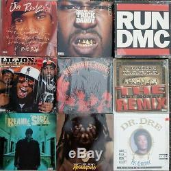Vinyle Lot De 400 Rap & Dj 80 Collection Ll, Jarule, Set DMC 10, Dmx, 2pac