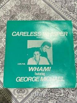 Wham George Michael Careless Whisper Japon Promo 12 Inch Vinyl Super Rare